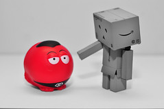 Nice to meet you, Supernose (Baker_1000) Tags: nikon rednose comicrelief rednoseday danbo 2015 d90 nikond90 danboard supernose