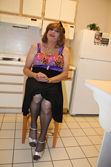 new68142-IMG_7641t (Misscherieamor) Tags: tv sitting feminine cd motel tgirl transgender mature sissy tranny transvestite crossdress ts gurl tg travestis prettydress travesti travestie m2f hairribbon xdresser tgurl