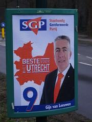 Provincial Elections Poster (harry_nl) Tags: netherlands poster utrecht nederland parties elections province verkiezingen sgp 2015 soesterberg provincie partijen gijsvanleeuwen