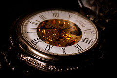 Pocket Watch (Crisp-13) Tags: face wheel hand time roman watch number timepiece pocket piece numeral cog exposed
