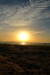 P.N. Los Toruos (Arantxac1) Tags: ocean sunset sun sol beach atardecer cadiz cdiz atlntico ocano