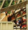 Travaux pour la construction de la nouvelle gare des Guillemins (08/06/2007), Liège, Belgium (claude lina) Tags: station architecture belgium belgique gare trains santiagocalatrava liège wallonie soudure soudeur provincedeliège garedesguilleminsliège