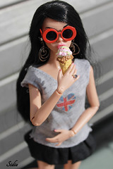 Ready for Summer!^_^ (Sidia09) Tags: new inspired poppy groove parker dollportrait fashionroyalty summer2015 kya80ooak poppyparkerooak sunglassestaggame icerement