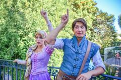 Flynn and Rapunzel (EverythingDisney) Tags: princess disneyland prince disney rapunzel dlr tangled flynnrider princessrapunzel eugenefitzherbert