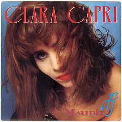1986_clara_capri_maudit_dj (Marc Wathieu) Tags: music belgium belgique coverart vinyl pop cover record sleeve chanson chansonfranaise vinylcover sleevedesign frenchchanson chansonbelge