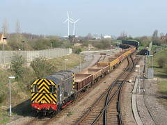 09009 Norwood Road, March 10/04/15 (rhayward92) Tags: march class 09 shunter gronk 09009