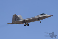 Lockheed Martin F-22A 04-4078 (Newdawn images) Tags: plane airplane fighter aircraft aviation military nevada jet aeroplane raptor usaf jetfighter usairforce redflag lockheedmartin militaryjet nellisairforcebase canonef100400mmf4556lisusm f22a canoneos6d 325thfighterwing 325thfw 95thfightersquadron 044078 95thfs lockheedmartinf22a044078