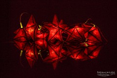 Star light (Dreamcatcher photos) Tags: red lights star darkness bright illuminated dreamcatcherphotos