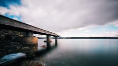 Norwegian Pier (jameslosey) Tags: longexposure sea oslo norway swimming swim pier norge