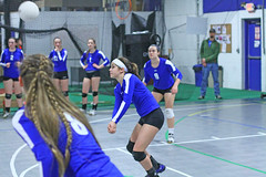 IMG_1510 (SJH Foto) Tags: school girls club high team shot action teens teenager volleyball dig bump tweens