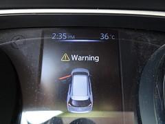 Warning (stevenbrandist) Tags: travel hot mexico high nissan sweat dashboard temperature xtrail travelogue tuxpan