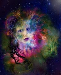 17=NASCITA DI UNA STELLA (ADRIANO ART FOR PASSION) Tags: portrait photoshop nikon explosion dream fantasy fantasia supernova universe ritratto sogno universo esplosione nikkor18200vr nikond90 photoshopcreativo