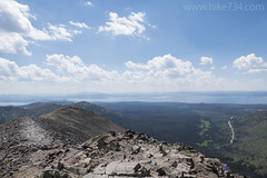 """View from Avalanche Peak • <a style=""""font-size:0.8em;"""" href=""""http://www.flickr.com/photos/63501323@N07/26903517996/"""" target=""""_blank"""">View on Flickr</a>"""