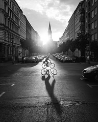 Sunset / Shadow (jnicht) Tags: sunset shadow berlin lumix streetphotography streetphotobw lumixlounge lumixgexperience