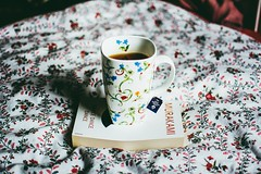 april is exactly my cup of tea (ivvy million) Tags: cup mug harukimurakami ivvymillion books buch book dancedancedance floral tasse tea tee bedcovers bettwsche flowers blumen blumenmuster nikond7100 35mm