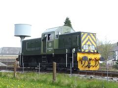 ELR BR Class 14 D9531 Ernest 07052016b (Rossendalian2013) Tags: train railway locomotive preserved ernest elr shunter ncb britishrailways eastlancashirerailway rawtenstall dieselhydrauliclocomotive class14 nationalcoalboard swindonworks d9531