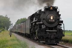 NKP 765 Take 3 (CC 8039) Tags: wisconsin train steam passenger avalon nkp wsor 765 wamx