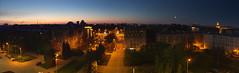 Night in St.Petersburg RUSSIA (Fabien Husslein) Tags: street sky panorama moon saint night lune dawn russia dusk petersburg ciel nuit crepuscule russie aube  petersbourg kune
