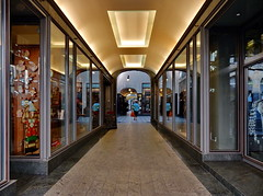 Leipzig City - Passagen 2 (Raoul Brosch) Tags: world street city germany deutschland europa europe saxony leipzig sachsen stadt architektur passagen welt stadtlandschaft profanbauten