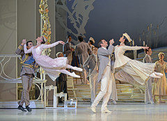Andrew Wright, Brooke Lockett, Brett Simon, Miwako Kubota (DanceTabs) Tags: ballet dance dancers coliseum swanlake australianballet