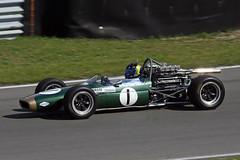 1_Brabham_31aug14Zvoort03 (Heron81) Tags: 1 hgp zandvoort brabham harc davidbrabham jackbrabham historicgrandprix bt24 circuitparkzandvoort historischeautorenclub historischegrandprix