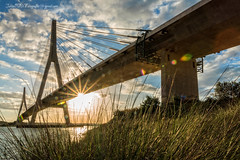 Puente de Ayamonte a Portugal (Julin Ro Di) Tags: bridge clouds puente nubes cielos ayamonte 1650ssm sonyilca77