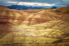 Lighting the Hills (JuneBugGemplr) Tags: paintedhills oregon
