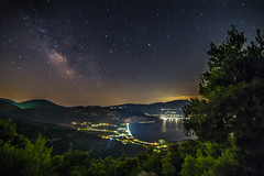 Midnight summer dream (Vagelis Pikoulas) Tags: summer june night canon way stars landscape star europe long exposure view nightscape space tokina greece galaxy universe milky milkyway 6d 2016 psatha 1628mm