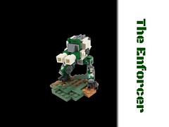 Enforcer 1.0 (noelpeterson12) Tags: lego apocalypse walker pollution mech
