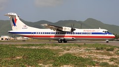 N399AT (Dub ramp) Tags: n399at americaneagle atr72 atr sxm saintmarrten mahobeech