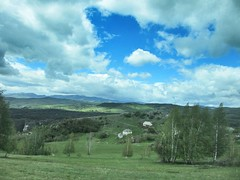 Farm and vista at Uvac Nature Reserve, Serbia (Paul McClure DC) Tags: uvac naturereserve serbia srbija zlatibor druinie vidikovac sjenica balkans may2016 scenery
