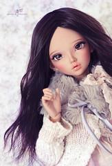 Aliyah (Mikiyochii) Tags: doll dolls tan chloe bjd custom fairyland abjd msd mnf minifee enchanteddolleyes