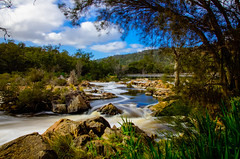 Bells Rapids in winter (tseyin) Tags: bellsrapids longexposure westernaustralia perth winter rapids water australia colours travel amazingaustralia colourful color clouds cloud river waterways landmark landscape light nature natural panoramic rock rocks sky travelphotos tourist vibrant