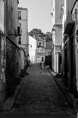 En Haut de la Rue de Charonne (Lens a Lot) Tags: street old iris light white black paris zeiss 35mm germany dark lens dead photography prime path 5 jena east german shade carl m42 end ddr flektogon manual f8 f28 blades 1959 | 2016 vontage