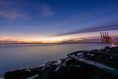 Soothing dusk (bdrc) Tags: asdgraphy a6000 sony tokina 1116 ultrawide long exposures hdr blend nd filter athabasca sunset port klang tanjung harapan coast seaside