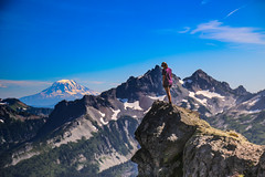 Paradise to Adams (Dex Horton Photography) Tags: mtrainier nationalpark wilderness protected outdoors glacier paradise visitorcenter entrance glaciertrail skylinetrail goldengate mtadams tatoosh range hike hiking hiker summer 2016 bestof dexhorton
