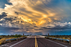 Road Trip (Ken Mickel) Tags: arizona avondale clouds desert landscape outdoors sunrise sunsets topaz topazadjust nature photography sunset