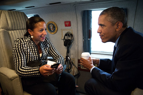 Susan Rice with President Obama