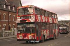 Bus Eireann KD184 (184JZL). (Fred Dean Jnr) Tags: doubledecker bombardier heinztomatoketchup buseireann september1998 alloverad kd184 buseireannroute206 184jzl summerhillsouthcork