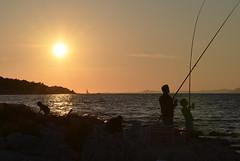 Fishing (roksoslav) Tags: fishing nikon croatia dalmatia 2014 brač postira ribolov sigma70mmf28 d5100