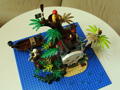 DSC_1457 (drillerbryan) Tags: island treasure lego pirates 2015 70411