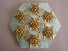 Stars (Monika Hankova) Tags: paper star origami tessellation