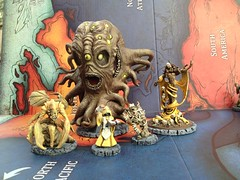 the Yellow Sign (Martin Whitmore) Tags: miniatures gaming cthulhu lovecraft undead boardgame hastur yellowsign byakhee kinginyellow cthulhuwars