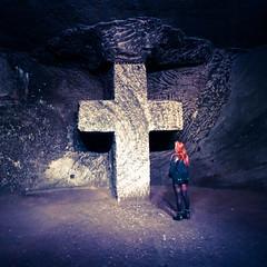 Inside the salt cathedral