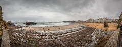 Biarritz, Grande Marée du 22 Mars 2015. (Jérôme Cousin) Tags: ocean sea mars mer beach rock port 22 march grande nikon atlantic 64 terri 28 tamron plage rocher euskadi biarritz pyrenees maree bab atlantique euskal herria atlantiques 2015 2470 d700