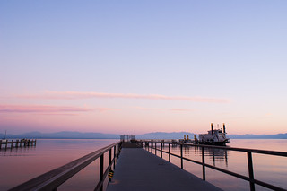 Tahoe Queen Sunset