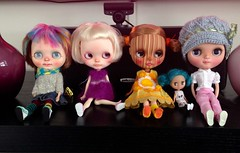 These girls are Hong Kong bound!!  Tooty Pa-Toots, April Dori, Coco, Bloo, and Pocket!