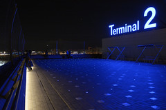Tokyo International Airport Terminal 2 DSC0094 (KWsideB) Tags: japan night airport exterior aviation terminal domestic haneda airtravel observationdeck hnd terminal2 hanedaairport tokyointernationalairport  rjtt
