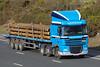 SW63HPV ARR Craib DAF XF on the M6 at Wreay, Carlisle, 22/3/15 (andyflyer) Tags: lorry artic m6 haulage hgv roadtransport m6motorway dafxf arrcraib m6truck sw63hpv