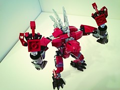 "Skarlet Rahkshi ""the hunter"" (Evilyushin) Tags: robot lego bionicle moc rahkshi"